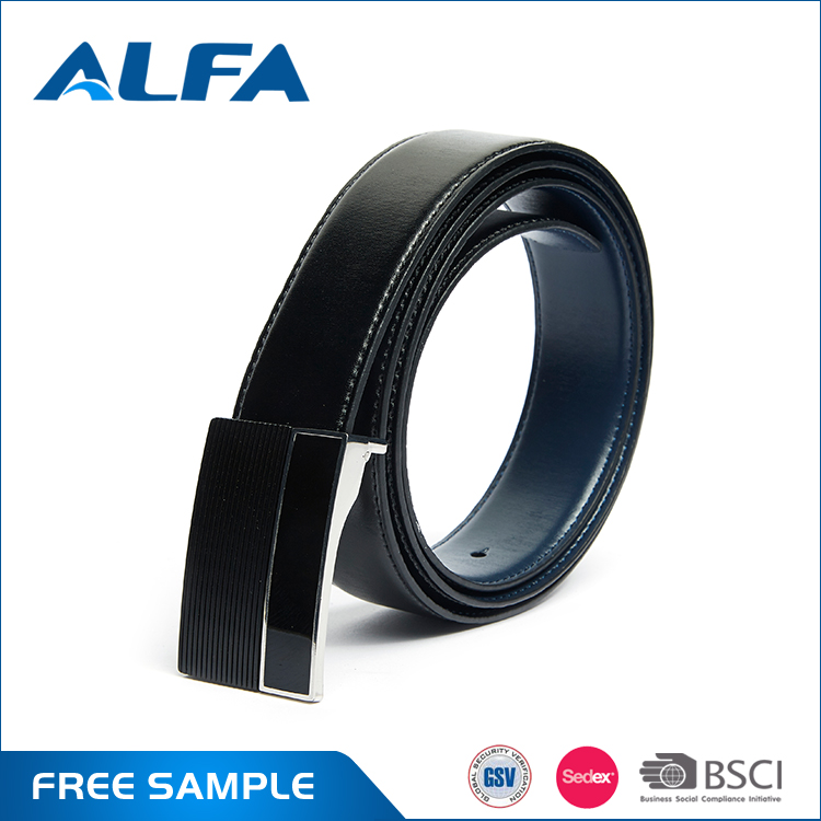 Alfa China Low Price Products Men Dress Fashion Indian Leather Belts Bound