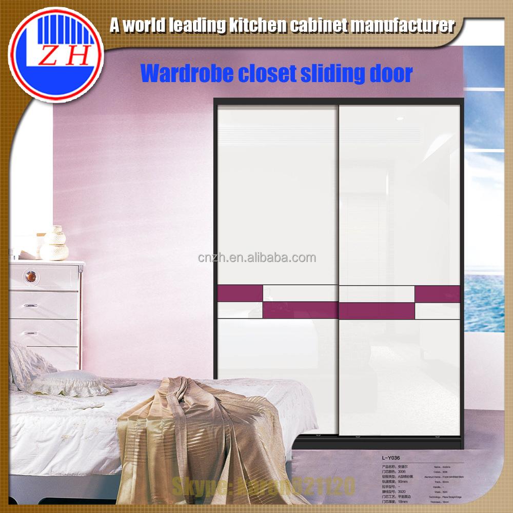 Children Bedroom Double Door Modern Wardrobe Closet Sliding Door