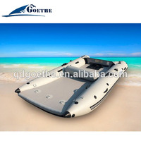 2016 New Type high speed Inflatable Boats with tent and cover
