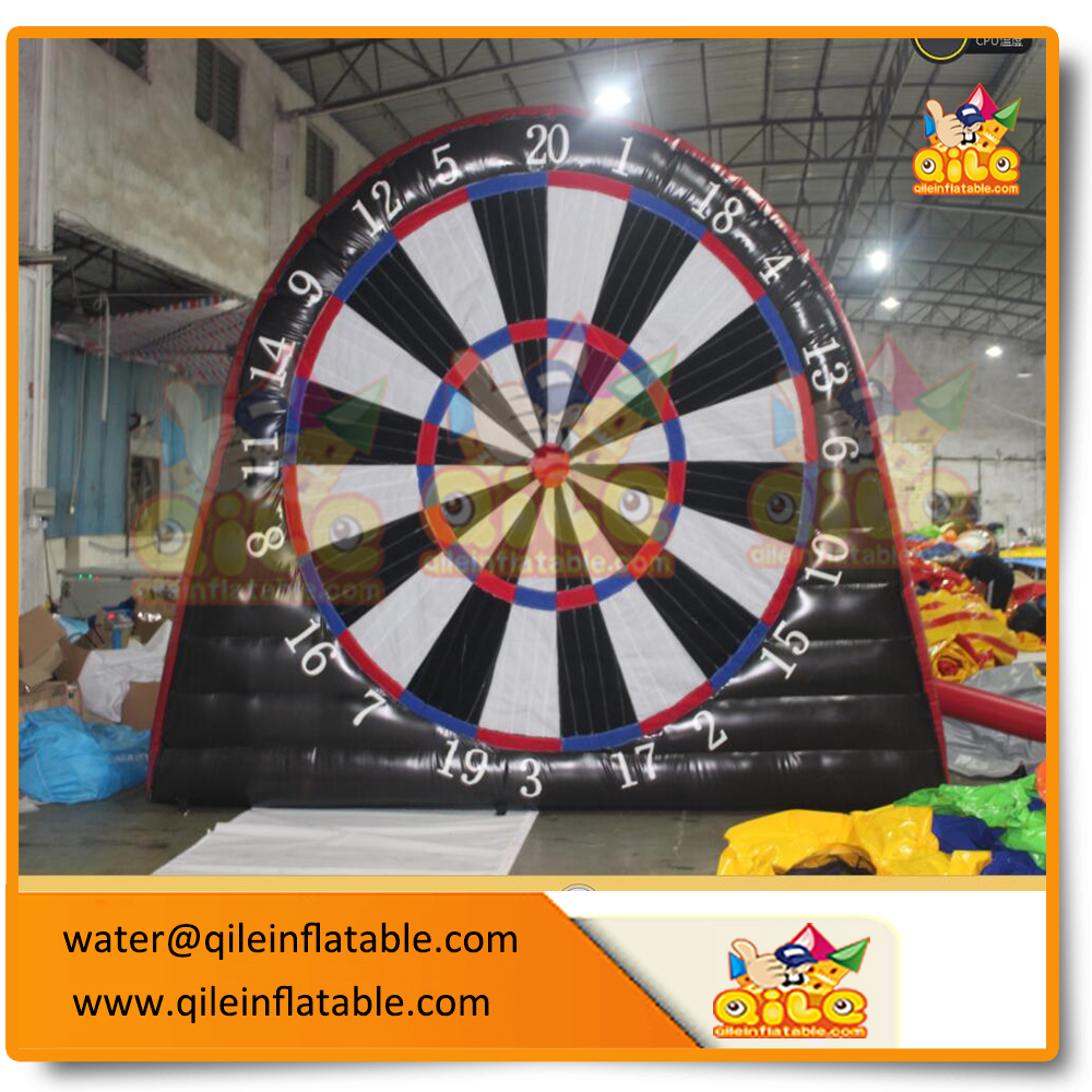 giant inflatable dart board target shoot soccer dart game for sale