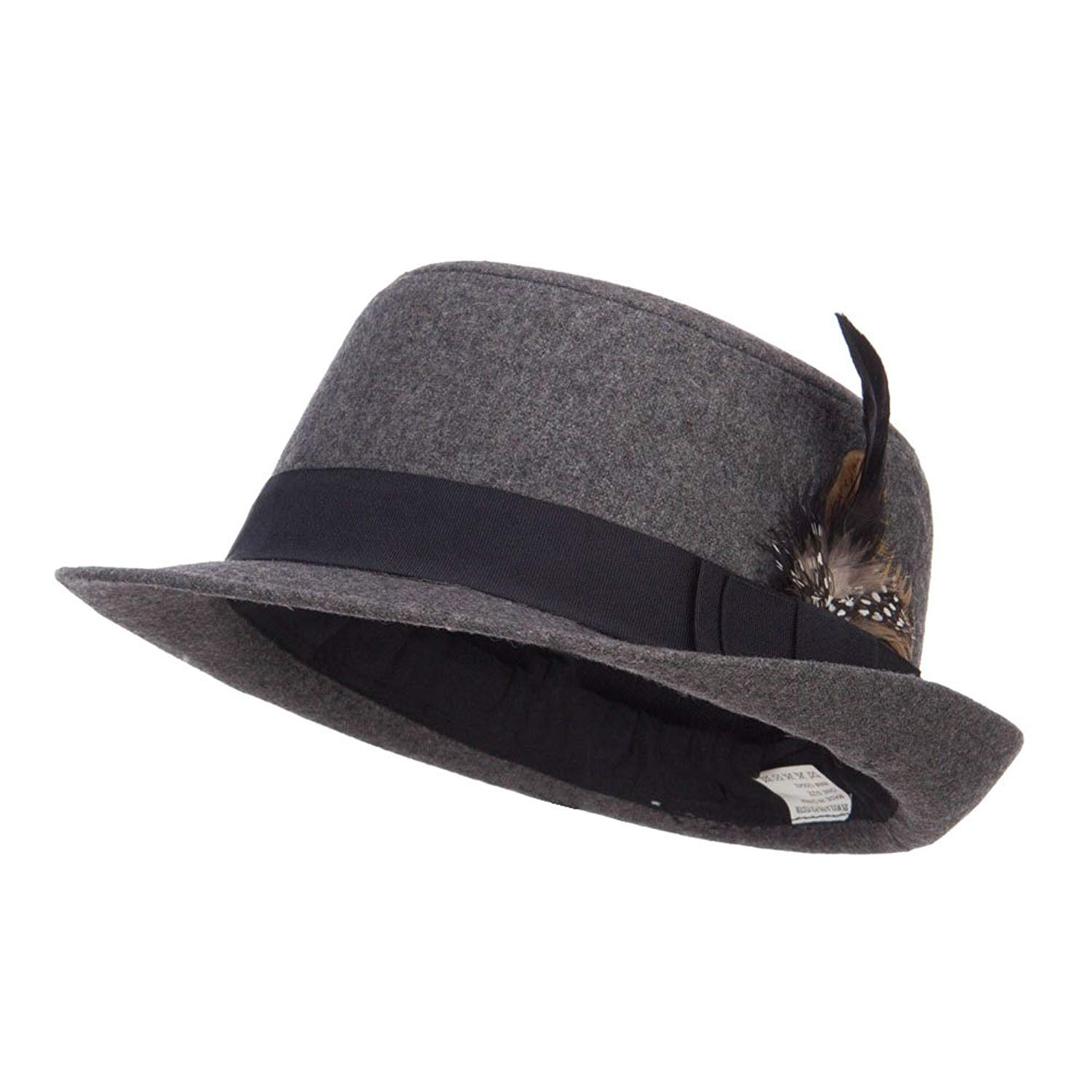 31c454aefb0 Get Quotations · Round Top Wool Blend Fedora