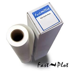 "20 lb. Bond Plotter Paper 92 Bright 17"" x 300' 2"" Core - 8 Rolls"