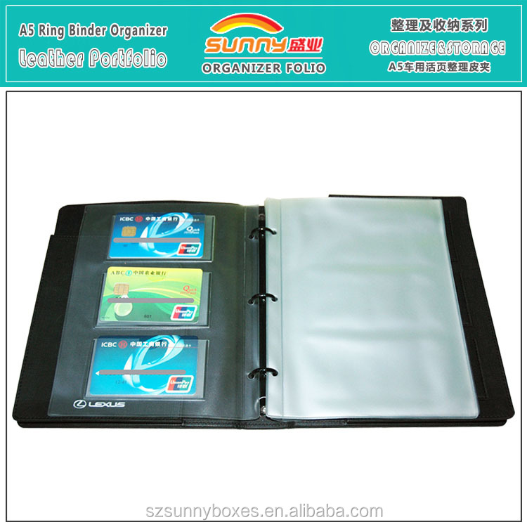 A5 Leather Document Holder, A5 Leather Document Holder Suppliers and ...