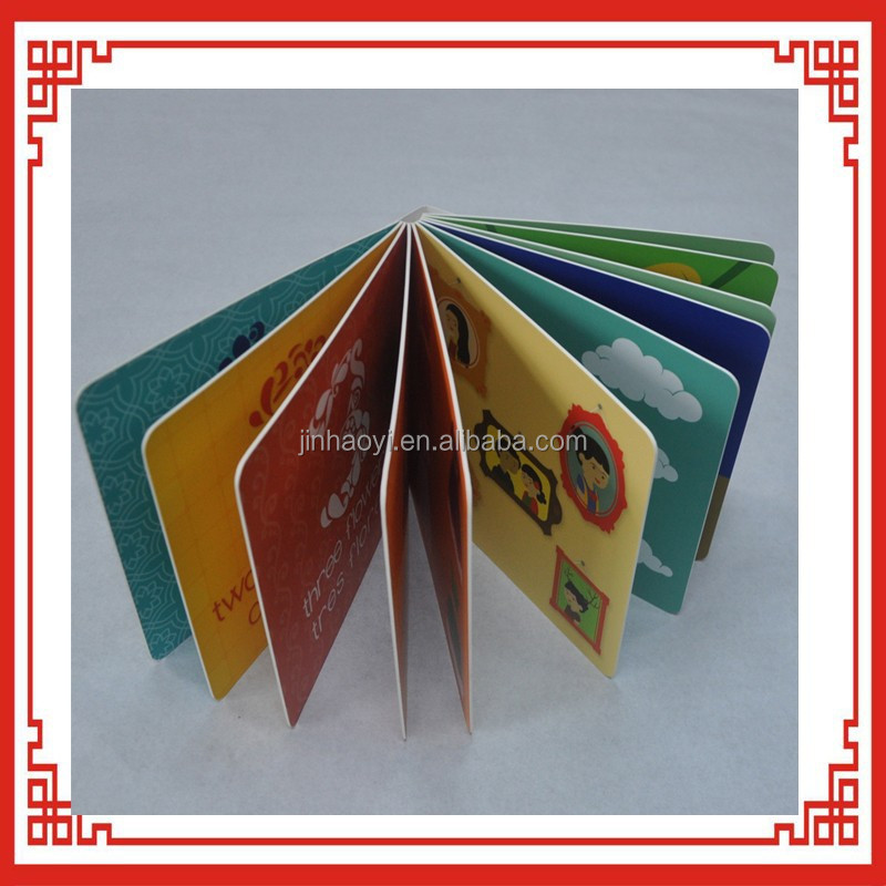 children thick paper book printing children cardboard book printing