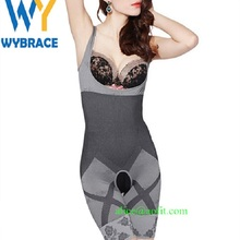 Natural Bamboo Charcoal Slimming Body Shaper Full Body Suit Corset Tummy Shapewear Wholesale