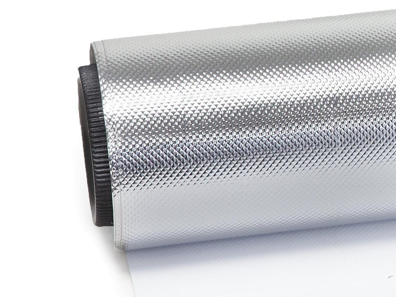 247Garden Diamond Silver Film Foil Roll Reflective Mylar Hydroponic (4 ft x 50 ft)