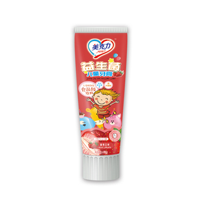 Kids Toothpaste Strawberry Flavor Xylitol Prevent Cavities Cheap Natural Toothpaste