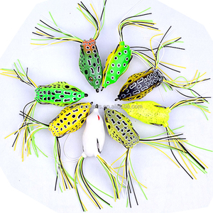 Supplying Soft Lure Artificial Plastic Fishing Frogs Lures