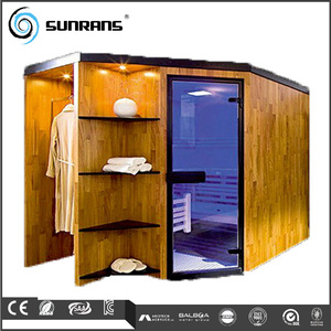 Humanization design Comfortable herbal steam sauna easy to use for 4 person sauna