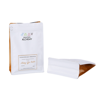High Quality Long Duration Time coffee bags with degassing valve aroma bag without