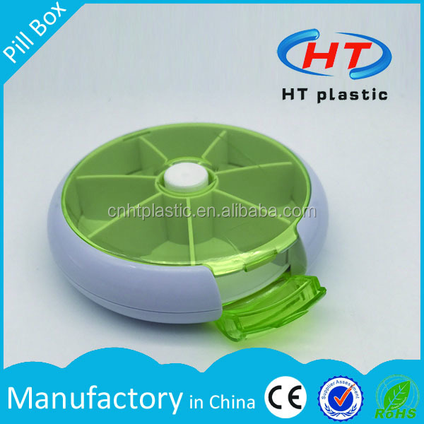 HTDP158 HT Factory Hot Sales For Promotion 7 day automatic pill dispenser