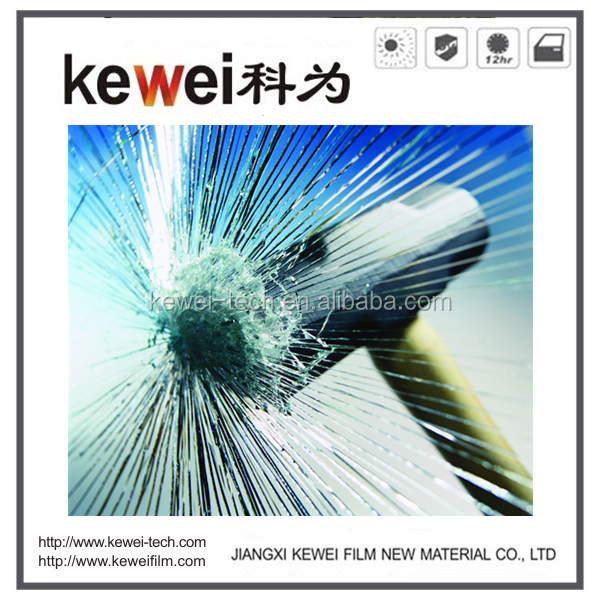 Popular security window solar film, safety window film for building