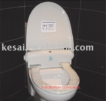 Hygiene Plastic Toilet Seat Cover  auto change film replacement toilet seat  cover automatic rollHygiene Plastic Toilet Seat Cover Auto change Film Replacement  . Plastic Toilet Seat Covers. Home Design Ideas