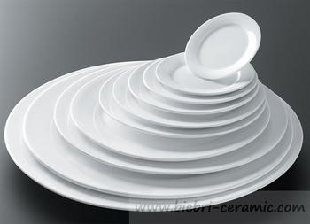 6 Quot Round Standard Shape Restaurant Hotel Plain White
