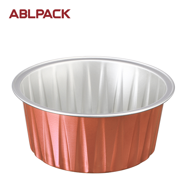 ABL Käsekuchen Dessert Brot Backen Cup Backformen Backform Kuchenform Bakeable Foil Pan