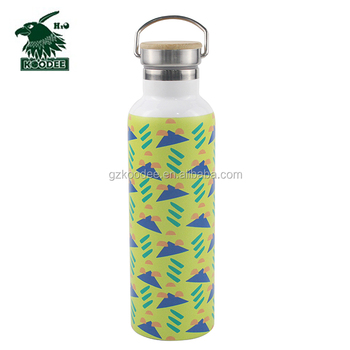 Big Mouth Double-Wall Stainless Steel Water Bottle Vaccum Flask