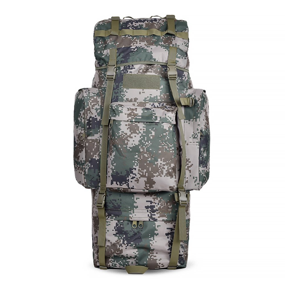 3ce88d3f7a99 Get Quotations · MaxMiles Extra Large Backpack High Capacity 6100 Cubic  Inches 100L Internal Frame Backpack Desert Camo Military