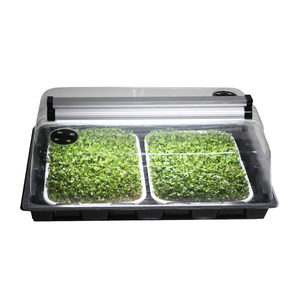 Microgreen T5 HO grow light Home Garden House Kit NanoDome Mini Greenhouse Kits Humidity Domes seeds Plant Growing Trays