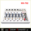 MX-702 New Professional 7 Channels Small Audio Mixer