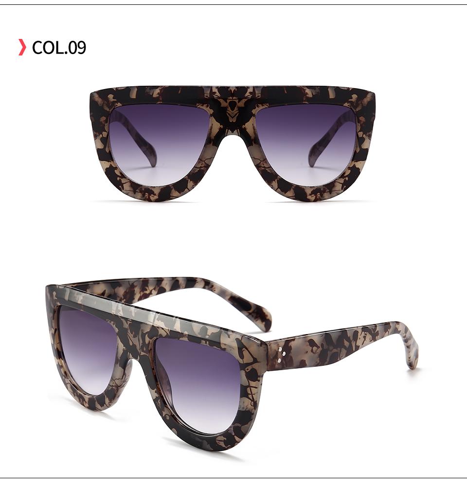 903c625e18e 20737 Superhot Eyewear 2018 Fashion Brand Designer Sun glasses Shades Flat  Top Women Sunglasses