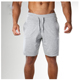 mens shorts with inner brief 100 cotton short with high quality plain dyed