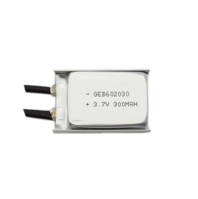 li-polymer rechargeable battery 602030 3.7v 300mah