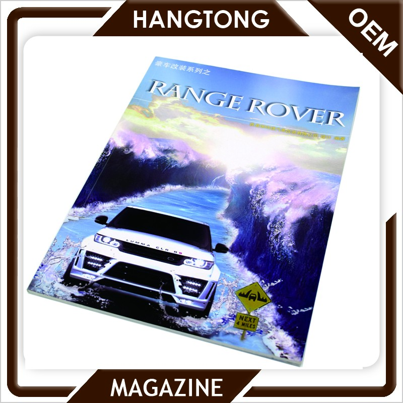 Factory direct supply full color cheap printing customized car products catalogs