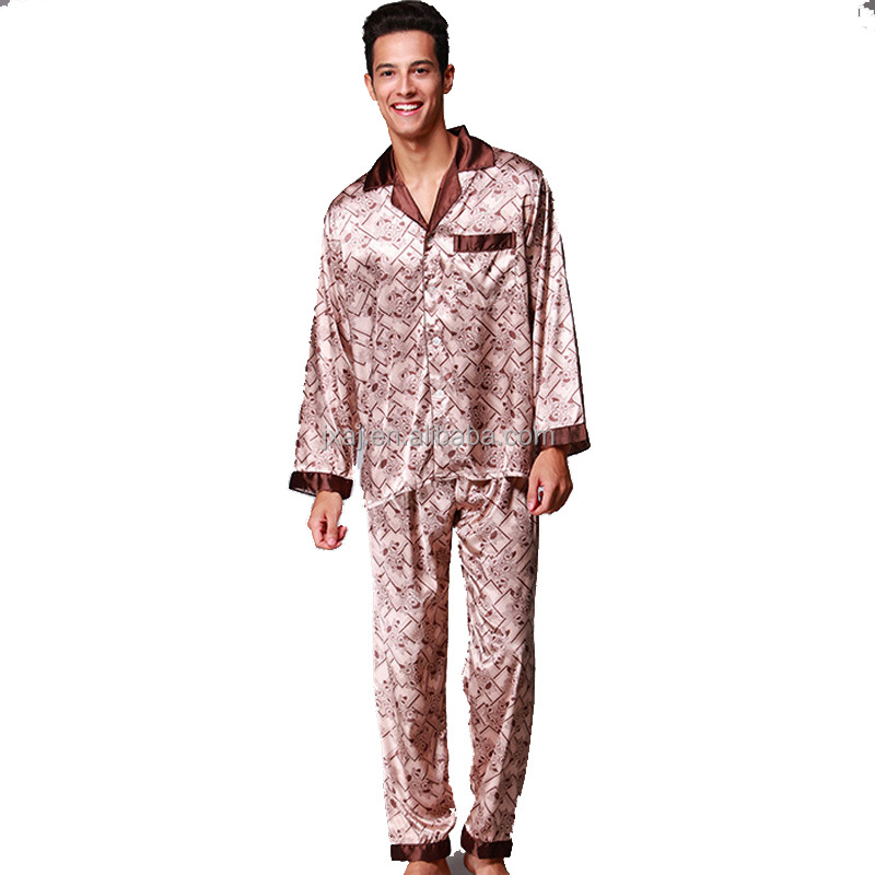 grossiste pyjama satin homme acheter les meilleurs pyjama satin homme lots de la chine pyjama. Black Bedroom Furniture Sets. Home Design Ideas