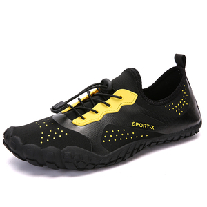 New model outdoor big size 36-48# elastic lace unisex finger shoes toe wholesale