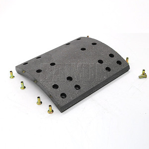 Wholesale 19005 Truck Brake lining Suit for Kamaz Truck Parts