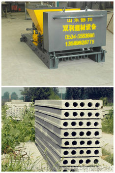 Lightweight Concrete Panels Exterior Wall Panel Machine Precast Concrete Fence Wall Forming