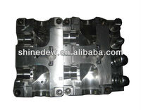Plastic injection mould for tractor part