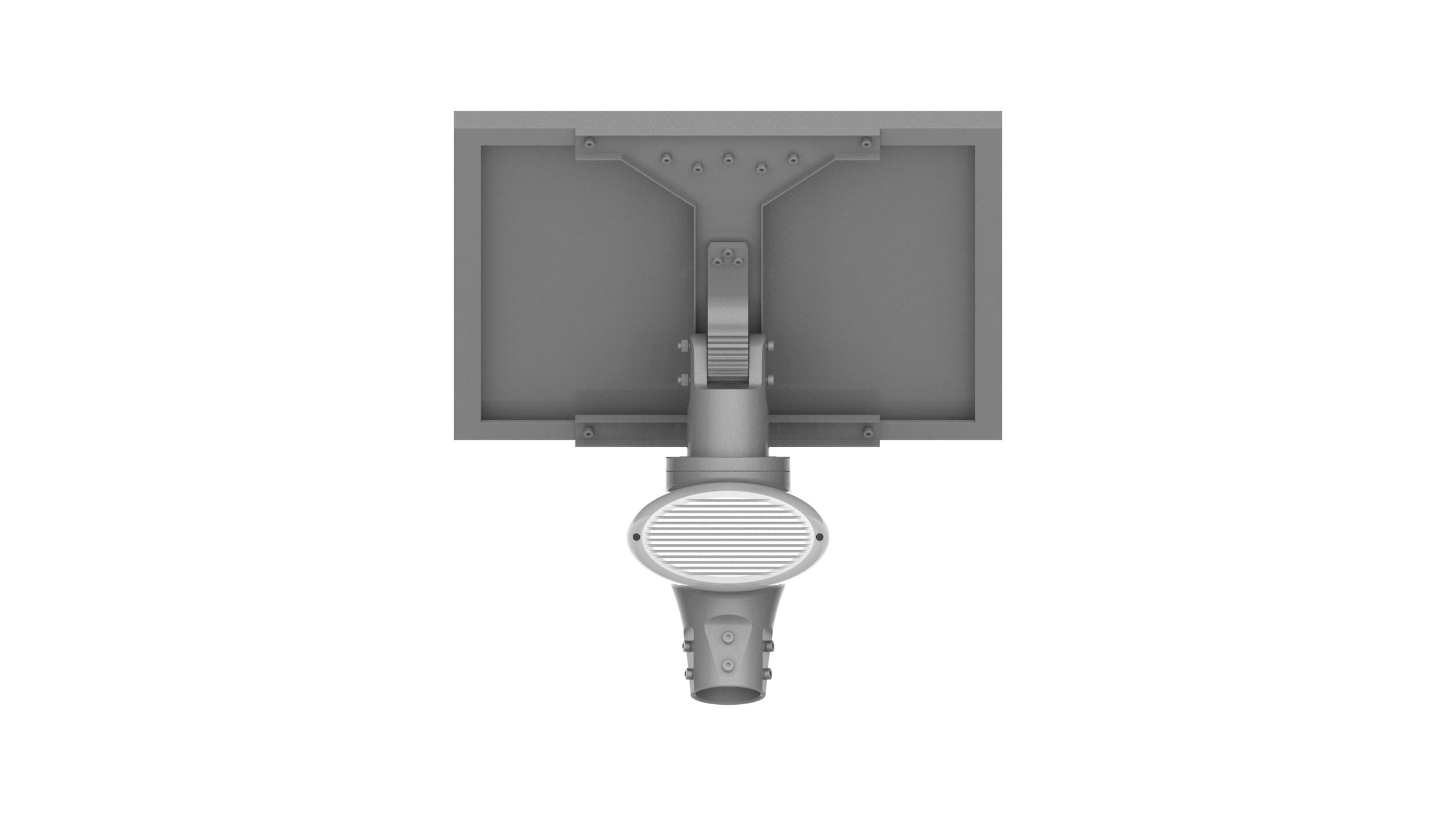 IP67 18V160W Geïmporteerde Hoge Efficiëntie All In One Led Zonne-straatverlichting Met Solar Mono Panel