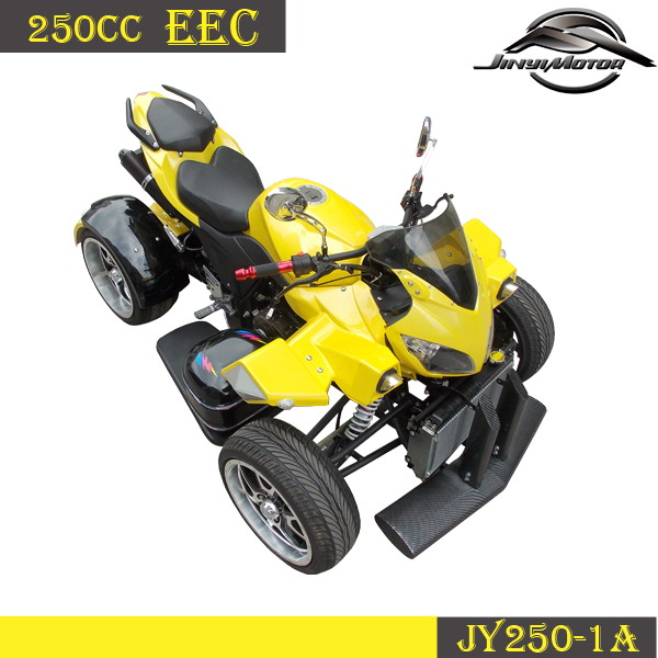 250cc racing ATV with eec approved, EEC QUAD with 2 person