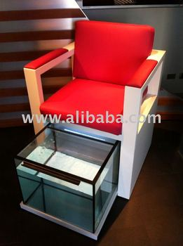 Pedicure chair fish spa garra rufa buy garra rufa for Fish pedicure price