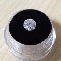 Certified DEF VVS Colorless White Round Brilliant Moissanites Loose 1 carat Diamond Price