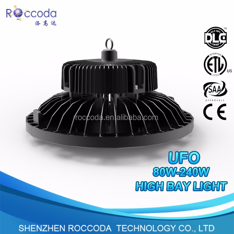 Industrial Lighting 100W 150W 200W 240W ERP UL TUV CE RoHS UFO LED High Bay Light, High Bay LED light