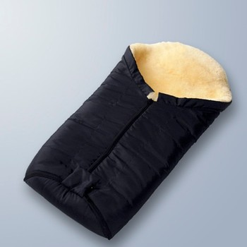 Whole And High Quality Sheepskin Baby Outdoor Sleeping Bag Bags For Newborn Babies