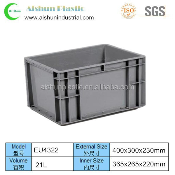 EU4322 Industrial storage plastic crates and box