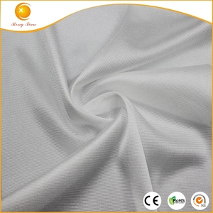 New 100% bright nylon satin tricot lining fabric for clothing