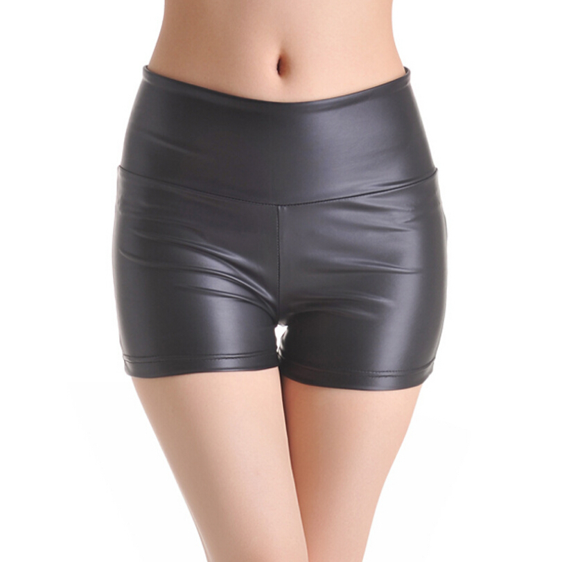 cd6069ab6715e Women Short Leather Leggings Gym Clothes Feminina Fitness Sport Mujer  Summer Style Slim 2015 New Brand