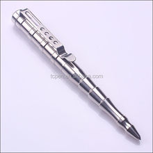 TC-S004 stainless steel self protection tactical pen high quality factory sale