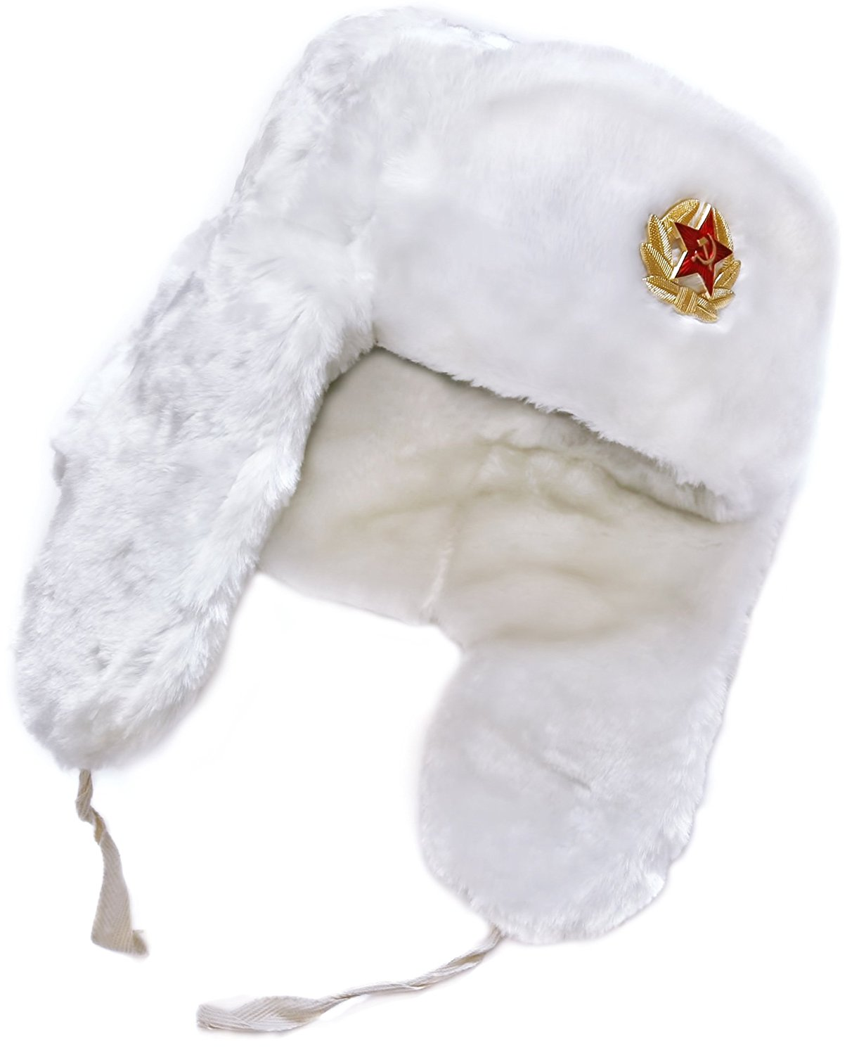 423bea911dda9 Get Quotations · Ushanka-hat Russian Soviet Army Fur Military Cossack