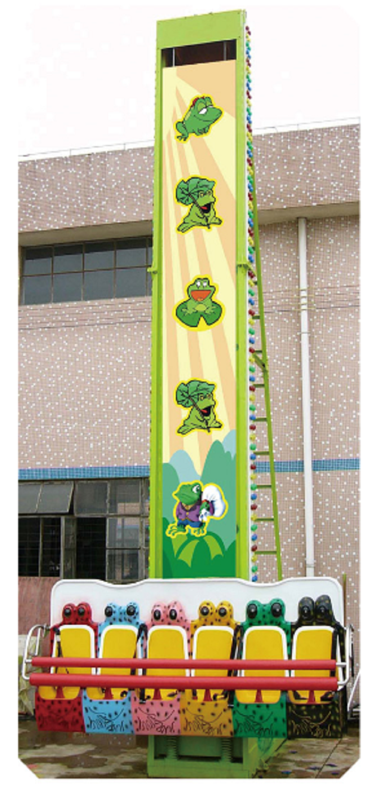 Ride Large Children Amusement Park Equipment jumping frog