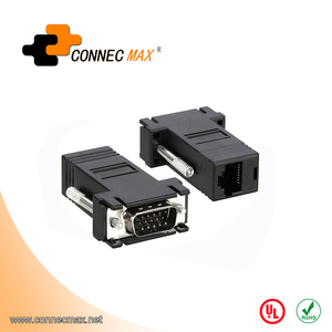 VGA 15pin male to RJ45 8P8C female adapter