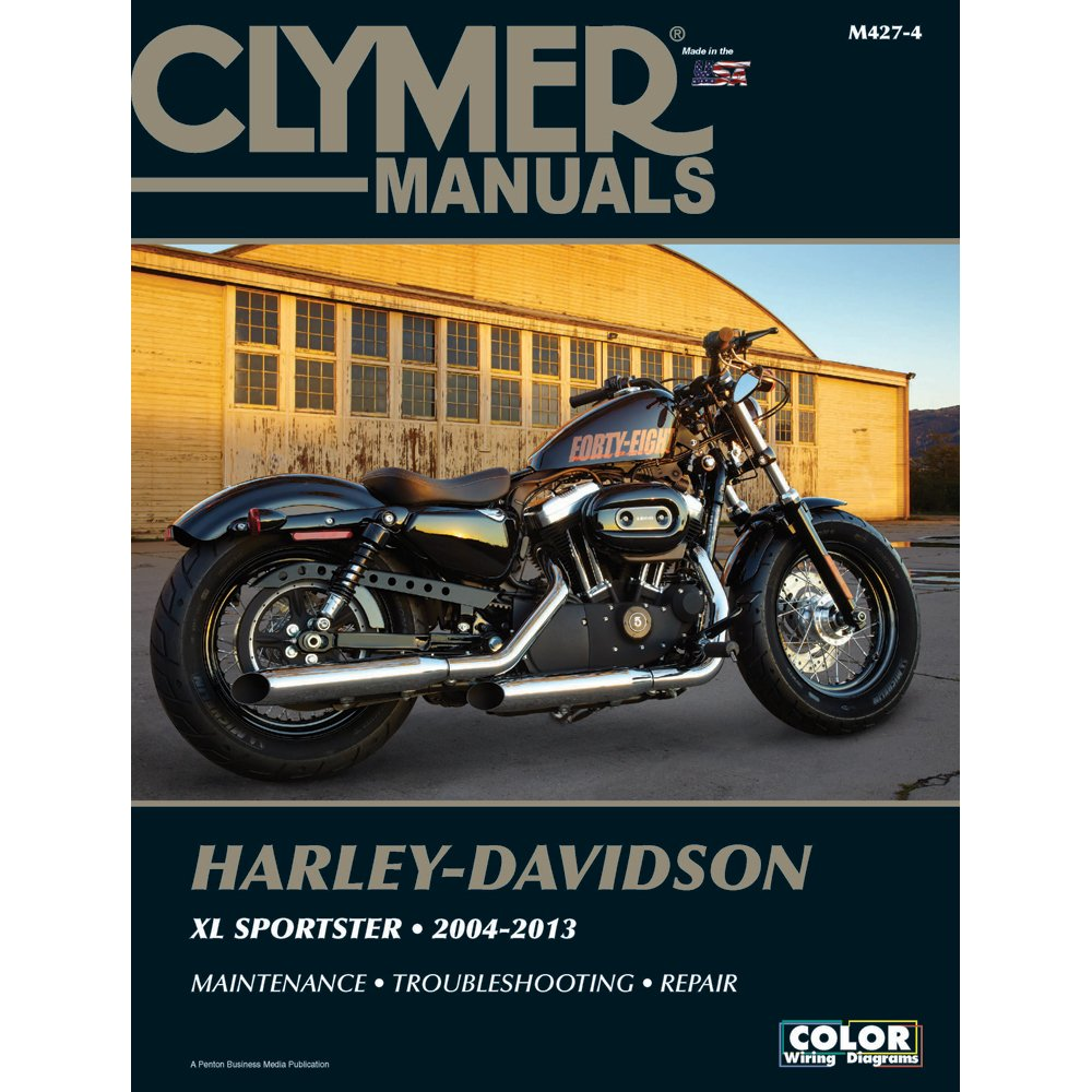 Get Quotations · Clymer Harley-Davidson XL883 & XL1200 Sportster (2004-2013)