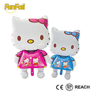 Biggest Balloon Factory in China Hello Kitty Foil Balloon for Party Event