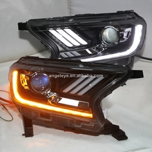 Pour Ford Ranger <span class=keywords><strong>SUV</strong></span> Everest Pour Mustang style Phare Lampe Frontale Led 2010-2014 Année