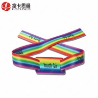Disposable Festival Used ISO14443A NFC NTAG213/215/216 Wristbands