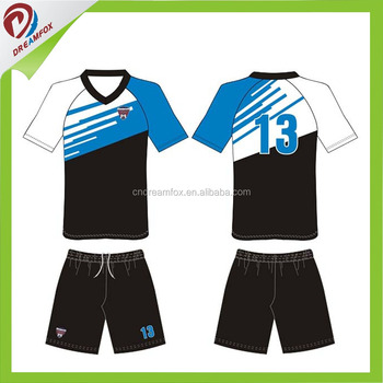 Custom Logo Soccer Jerseys With Collar Top Quality Soccer Jersey soccer  uniforms Supplier In China 5edaf0c05590
